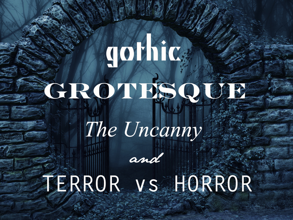 Literary Terms: Gothic, Grotesque, and The Uncanny