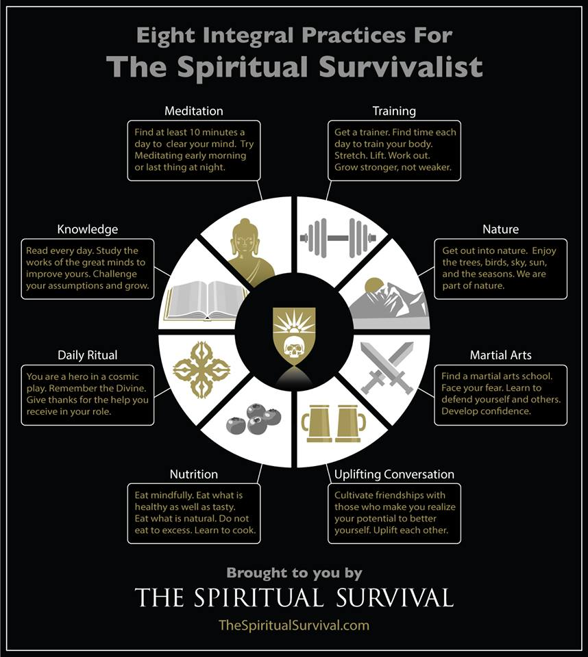 Eight Practices for the Spiritual Survivalist