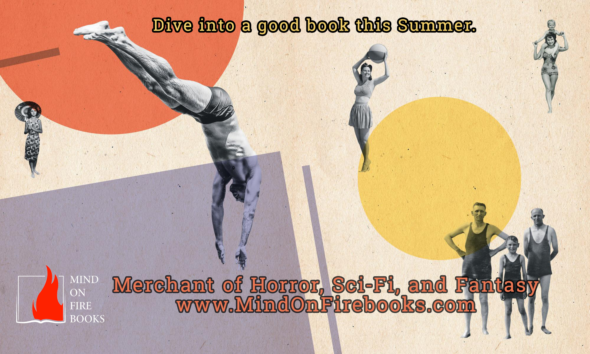 Dive into a good book this Summer