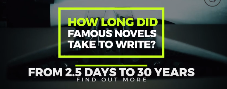 How Long it Took 40 Writers to Complete Their Works