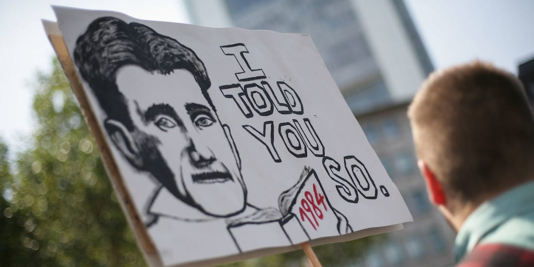 I Told You So – George Orwell and 11 Quotes About War and Power