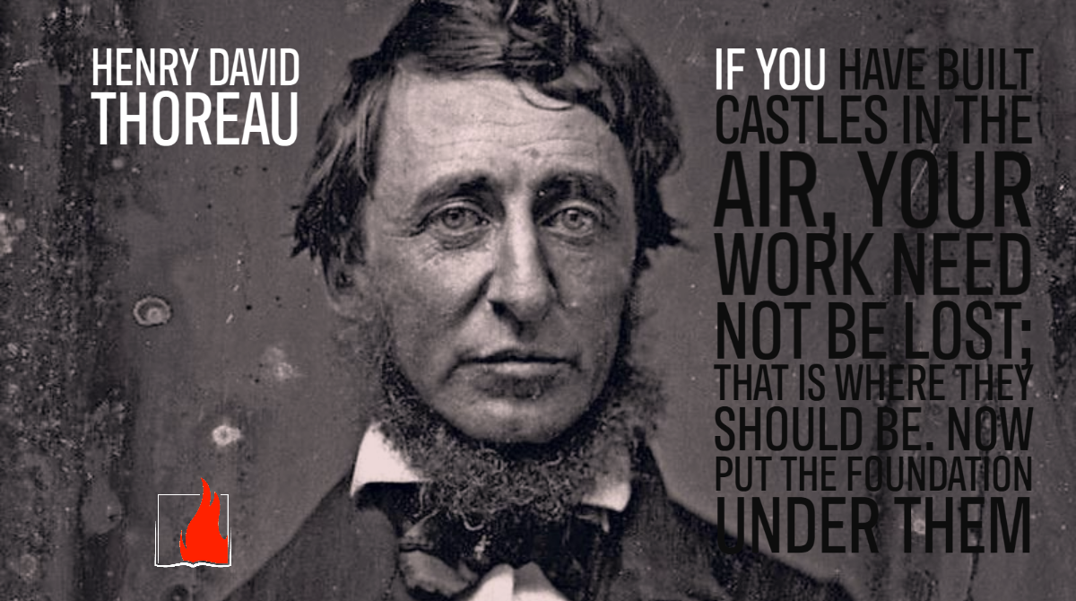 12 Essential Quotes by Henry David Thoreau