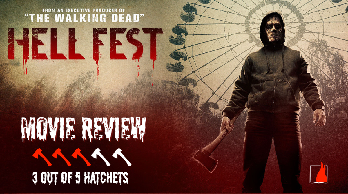 Hell Fest Movie Review by Horror Author, A.R. Braun